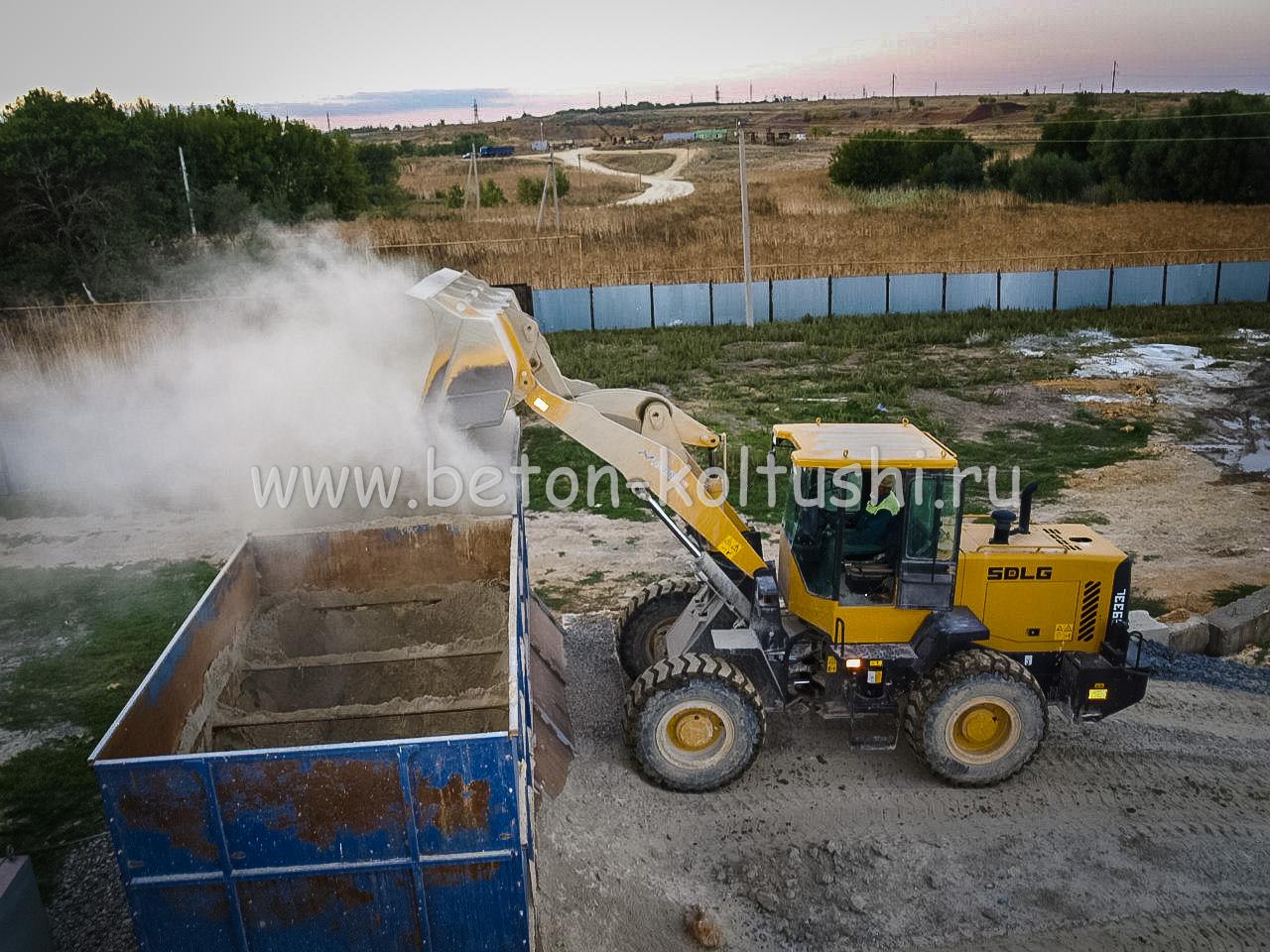Бетон в колтушах купить купить коронку 70мм по бетону